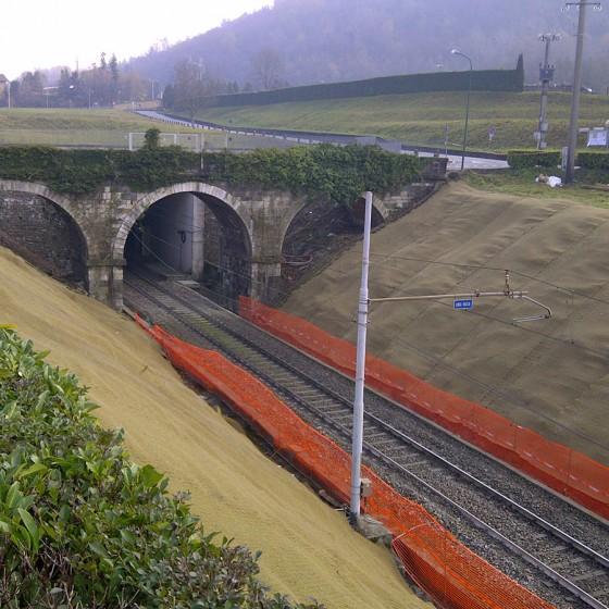 RFI – Sistemazione scarpata ferroviaria