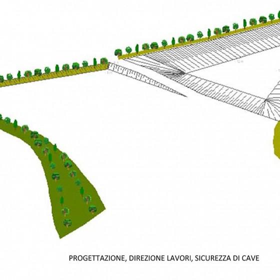 Progettazione, direzione lavori e sicurezza di Cave